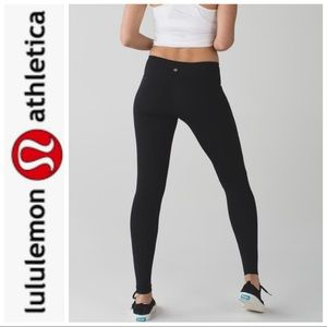 Lululemon woman's Wunder Under Low-Rise Tight SZ 8